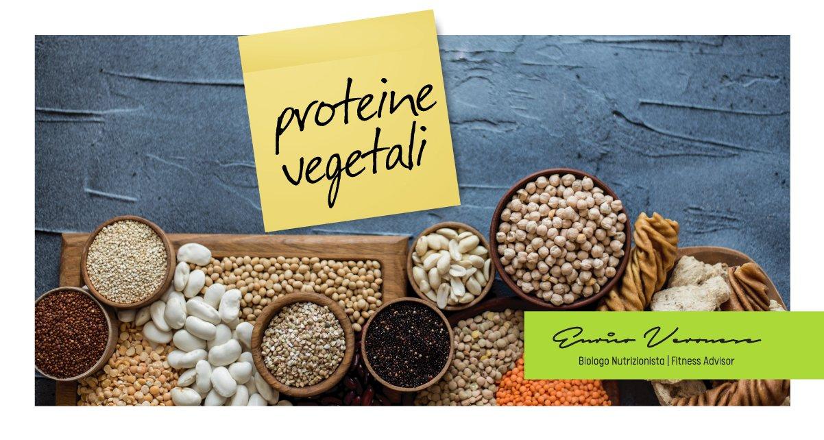 proteine vegetali dott. Enrico Veronese